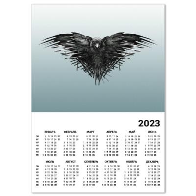 Календарь Игра Престолов: Ворон