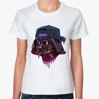 Классическая футболка Дарт Вейдер Бомж