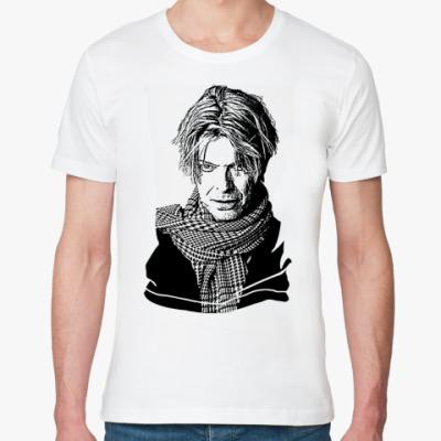 Футболка из органик-хлопка David Bowie