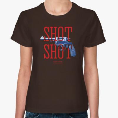 Женская футболка Оружие СССР