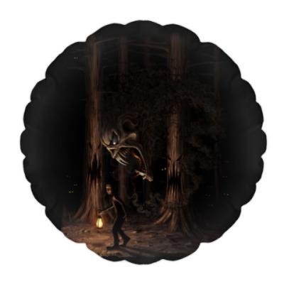 Подушка Ночная тварь из леса