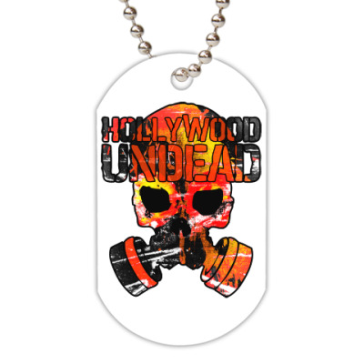 Жетон dog-tag Hollywood Undead Gas Mask