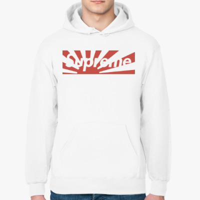 Толстовка худи Supreme box logo