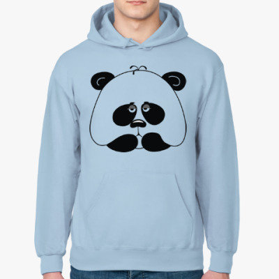 Толстовка худи Грустная панда