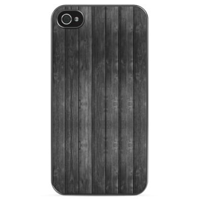 Чехол для iPhone Dark Wood