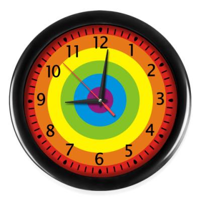 Настенные часы Часы Радуга