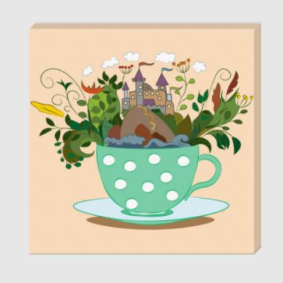 Холст Мечтательный чай