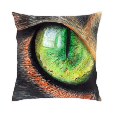 Подушка Кошачий глаз