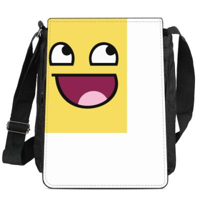 Сумка-планшет Смайл Awesome