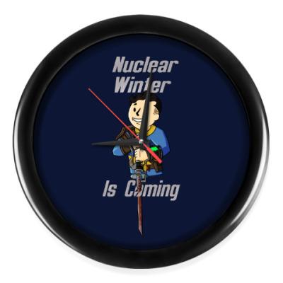 Настенные часы Ядерная Зима Близко