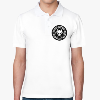 Рубашка поло Zombie outbreak response team