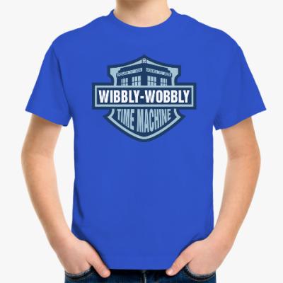 Детская футболка Wibbly-Wobbly - Time Machine