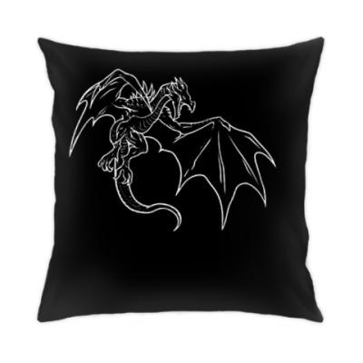 Подушка Skyrim Дракон
