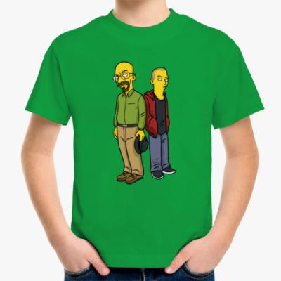 Детская футболка Breaking Bad Simpsons