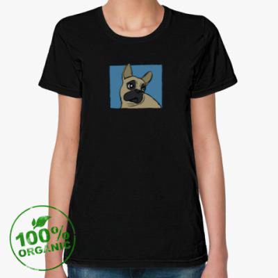 Женская футболка из органик-хлопка DOOSYA 1 T