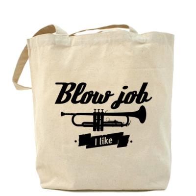 """Сумка """"Blow job I like"""""""