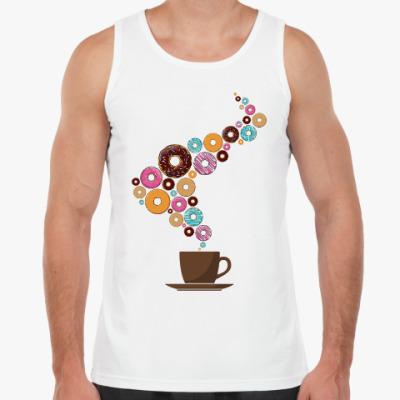 Майка Кофе с пончиками
