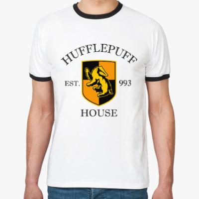 Футболка Ringer-T Hufflepuff