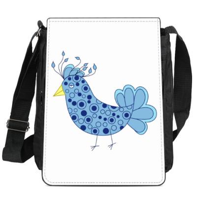 Сумка-планшет Синяя птица