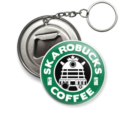 Брелок-открывашка Skaro Coffee DOCTOR WHO Dalek