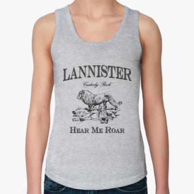 Женская майка Lannister