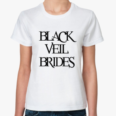 Классическая футболка Black Veil Brides
