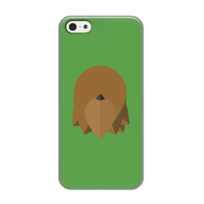 Чехол для iPhone 5/5s Чубакка (Chewbacca) Минимализм
