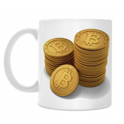Кружка Bitcoins