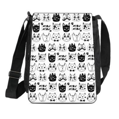 Сумка-планшет Для любителей кошек!