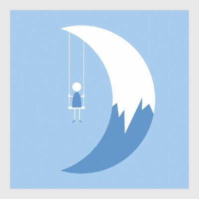 Постер Качели на Луне