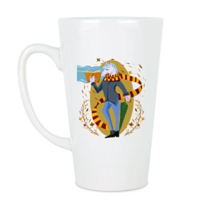 Чашка Латте Питерский единорог
