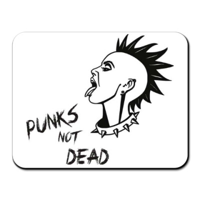 Коврик для мыши Punks girl