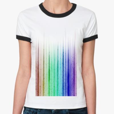 Женская футболка Ringer-T Equalize
