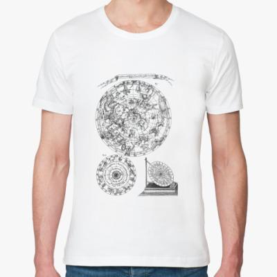 Футболка из органик-хлопка астрономия