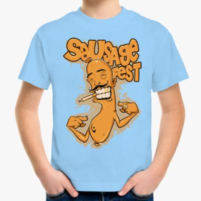 Детская футболка Крутая Сосиска