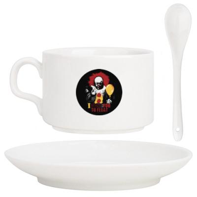 Кофейный набор Clown It by Stephen King