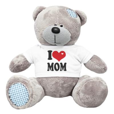 Плюшевый мишка Тедди Я люблю маму