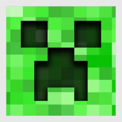 Постер Minecraft Creeper