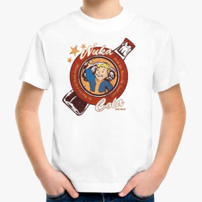 Детская футболка Fallout Nuka Cola Vault Boy