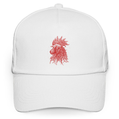 Кепка бейсболка Красный петух символ Года
