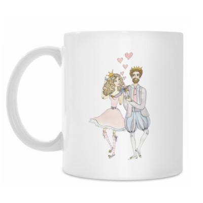 Кружка Принцесса и принц