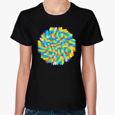 Женская футболка Радужное настроение
