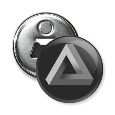 Магнит-открывашка Невозможный Треугольник 3D