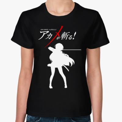 Женская футболка Убийца Акаме