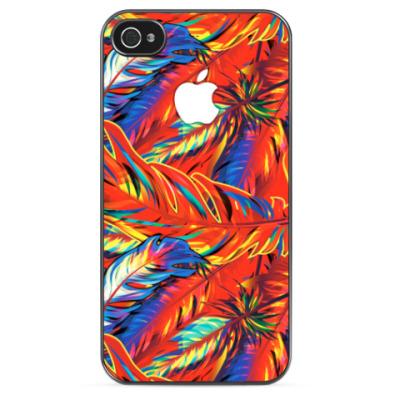 Чехол для iPhone Feathers