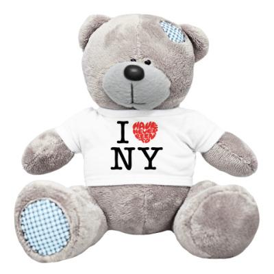 Плюшевый мишка Тедди I Have Never Been to NY