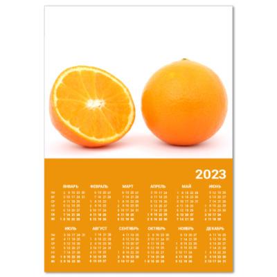 Календарь  Aпельсины