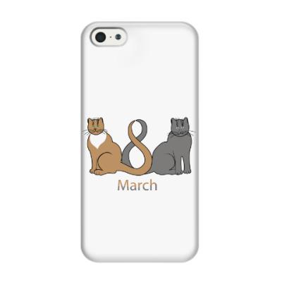 Чехол для iPhone 5/5s 8 марта