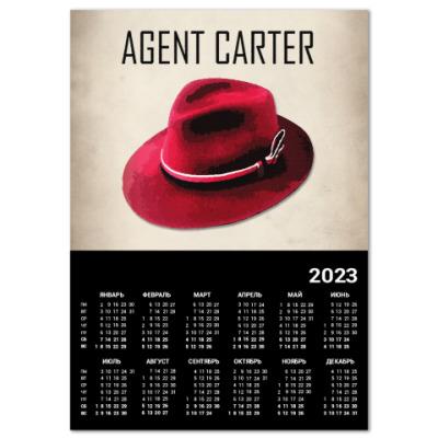 Календарь Agent Carter