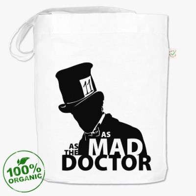 Сумка As mad as the Doctor